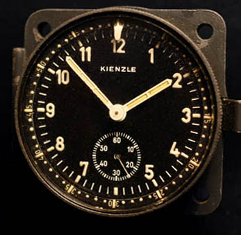 Luftwaffe Aircraft Clock | Kienzle | Provenance.