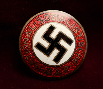 NSDAP Party Membership Badge | Early RZM Version.