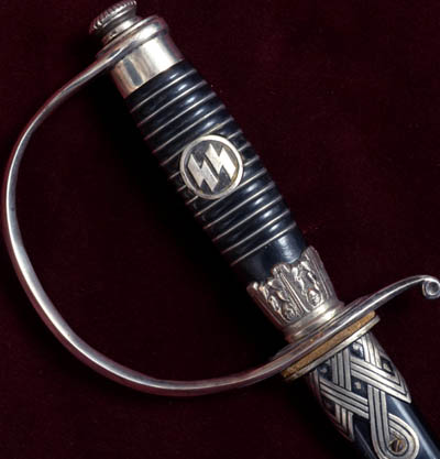 SS Officer Sword | nickel-silver | Krebs