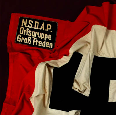 NSDAP 'Kampfzeit' (1923-25) Flag | Ortsguppe Gross Freden | Museum Interest | Provenance.
