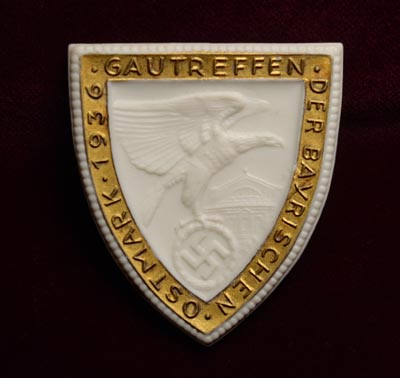 SA Rally Badge | Gautreffen Ostmark 1936.