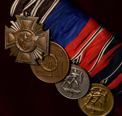 SS Medal Group | Halle Provenance | Museum Quality.