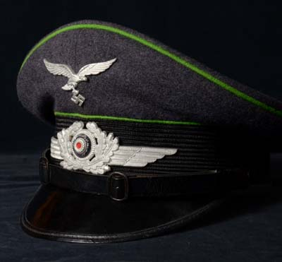 Luftwaffe Traffic Contol Visor Cap.