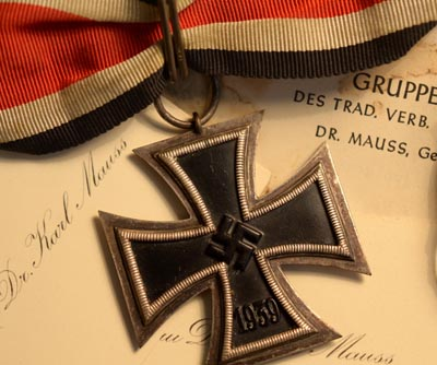 Knights Cross 'Übergrosse' Field Award | Generalleutnant Karl Mauss | Grouping.