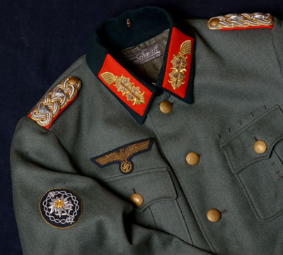 Heer General Rank Tunic | Gebirgsjäger General | German Cross Holder
