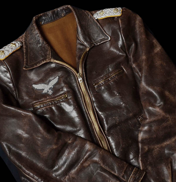 Luftwaffe Leather Flyers Jacket | Oberst.