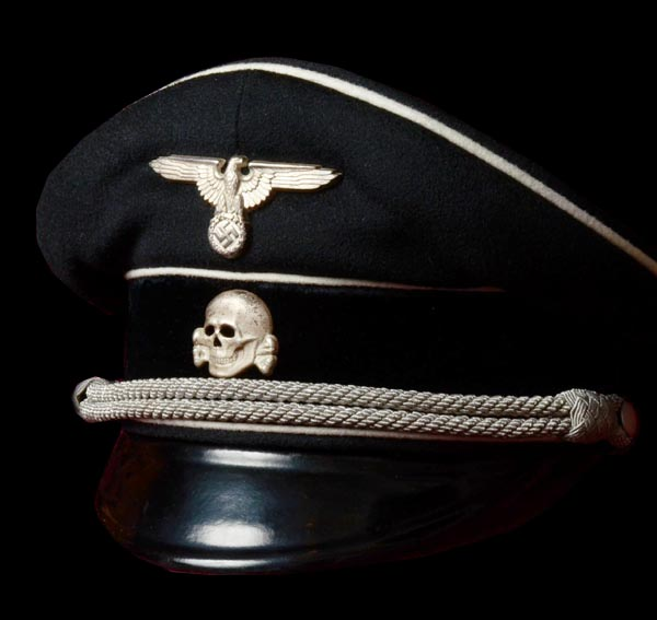 SS Officer Allgemeine Visor Cap | Named | Museum Quality