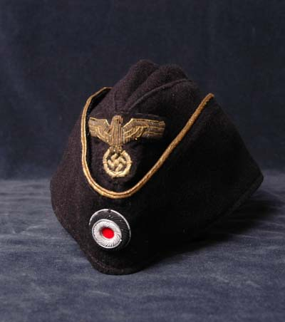 Kriegsmarine Forage Cap. Officer. Rare.