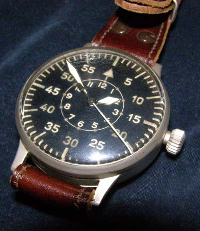 Luftwaffe Observer Watch By Laco. Original Strap.