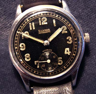 German Army Watch By Silvana. Circa 1942. Early Numbering.