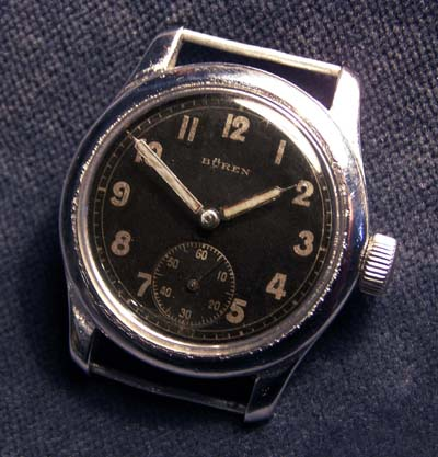 German Army Watch By Buren.