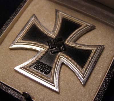 Iron Cross 1st Class. By Friedrich Orth. Cased. Maker '15.'
