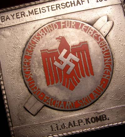 Third Reich Sports Association ski prize 1939