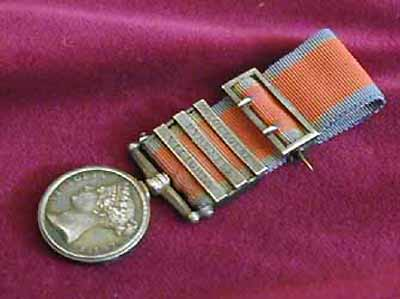 MINIATURE MEDALS SALE  MILITARY GENERAL SERVICE MEDALS