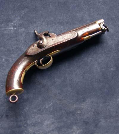 Dating flintlock pistols