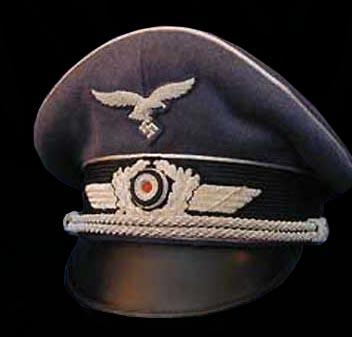GERMAN HEADGEAR | WW2 LUFTWAFFE PEAK VISOR CAP