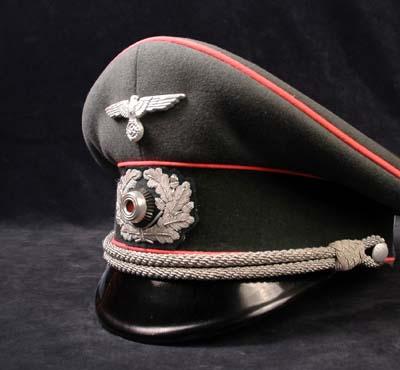 GERMAN HEADGEAR | PANZER PEAK VISOR CAPS | WW2