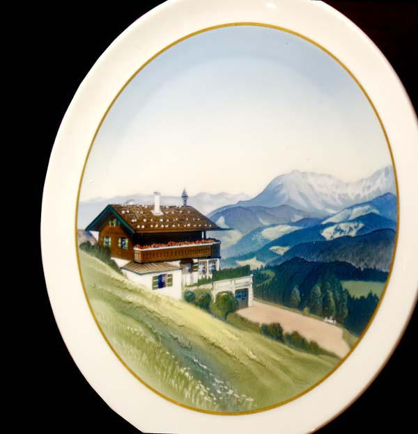 WW2 German Rosenthal Porcelain Plate