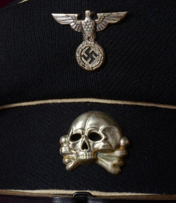 SS HEADGEAR   ALLGEMEINE-SS PEAK VISOR CAPS