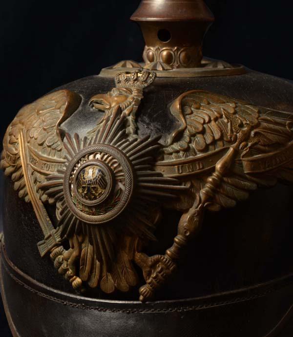 IMPERIAL GERMAN HELMETS | PICKELHAUBEN